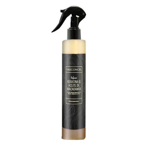 Spray Bifase Keratina y Macadamia 250ml Vasconcel