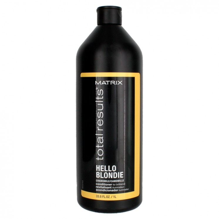 Acondicionador rubios Hello Blondie 1000ml Total Results Matrix