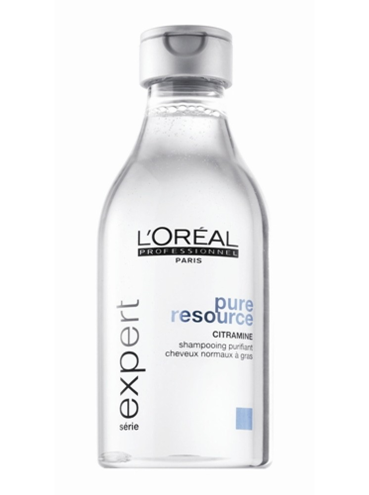 Champu 250ml Antigrasa Pure Resource Loreal Expert