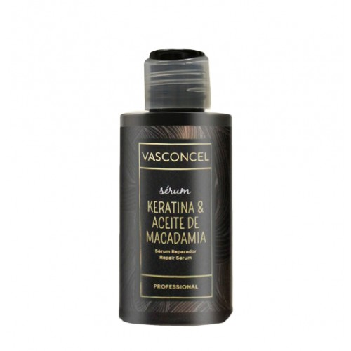 Serum Reparador Macadamia y Keratina 100ml Vasconcel
